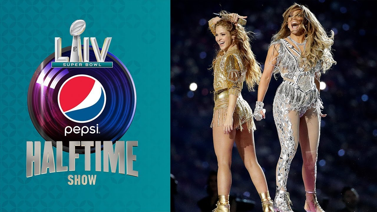 Shakira & J. Lo perform at the Super Bowl LIV Pepsi Halftime Show.