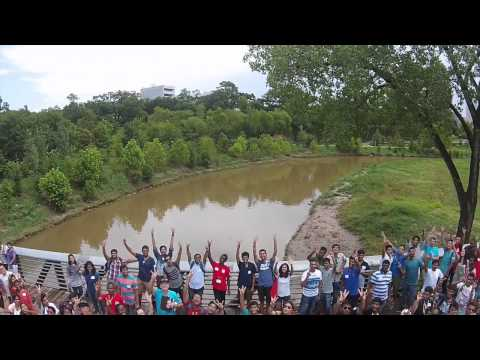 2015 Houston City Tour Welcome Party Trailer (drone from Eye In The Sky Rentals)