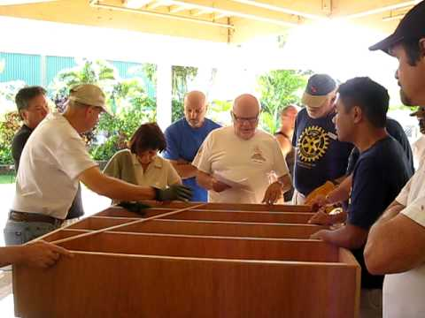 Rotary Club of Honolulu/Palama Settlement Library Project 2009