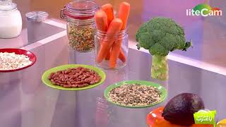 اخصائية التغذية لمى النائلي أطعمه تحد من الشهيه و تساعد في خسارة الوزن Lama Alnaeli MBC TV