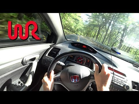 Modified 275hp 2009 Honda Civic Si Tedward POV Drive Binaural Audio