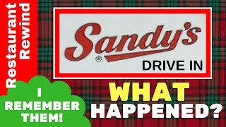 What Happened to Sandy's Drive In?
