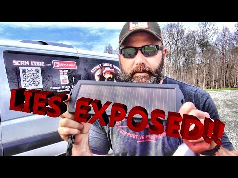 GOVERNMENT LIED TO US ABOUT SOLAR POWER...OFF GRID WITH TINY SOLAR PANEL!!  (SPOOF)