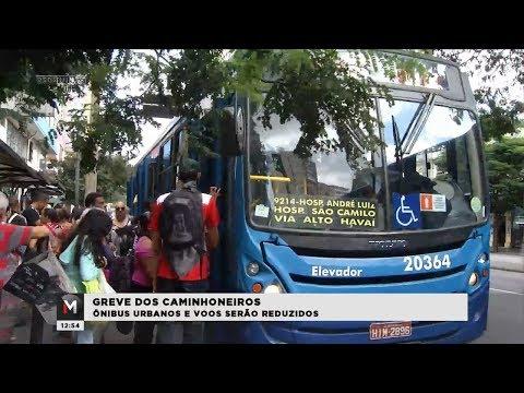 GREVE DOS CAMINHONEIROS REFLETE NO TRANSPORTE DE BH - Jornal Minas