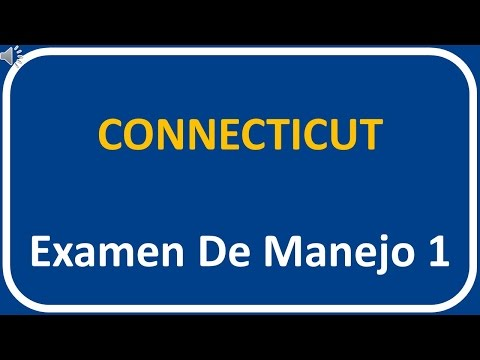 Examen De Manejo De Connecticut 1