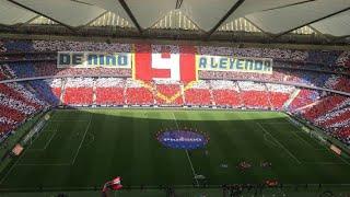 Despedida de Fernando 'El Niño' Torres del Atlético de Madrid| Banquillo al Atlético Madrid