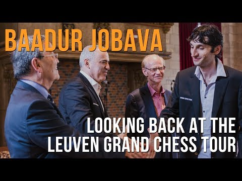 Baadur Jobava Looking Back At The Leuven Grand Chess Tour