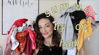 HUGE summer try on haul! lululemon favorites, forever21, + more