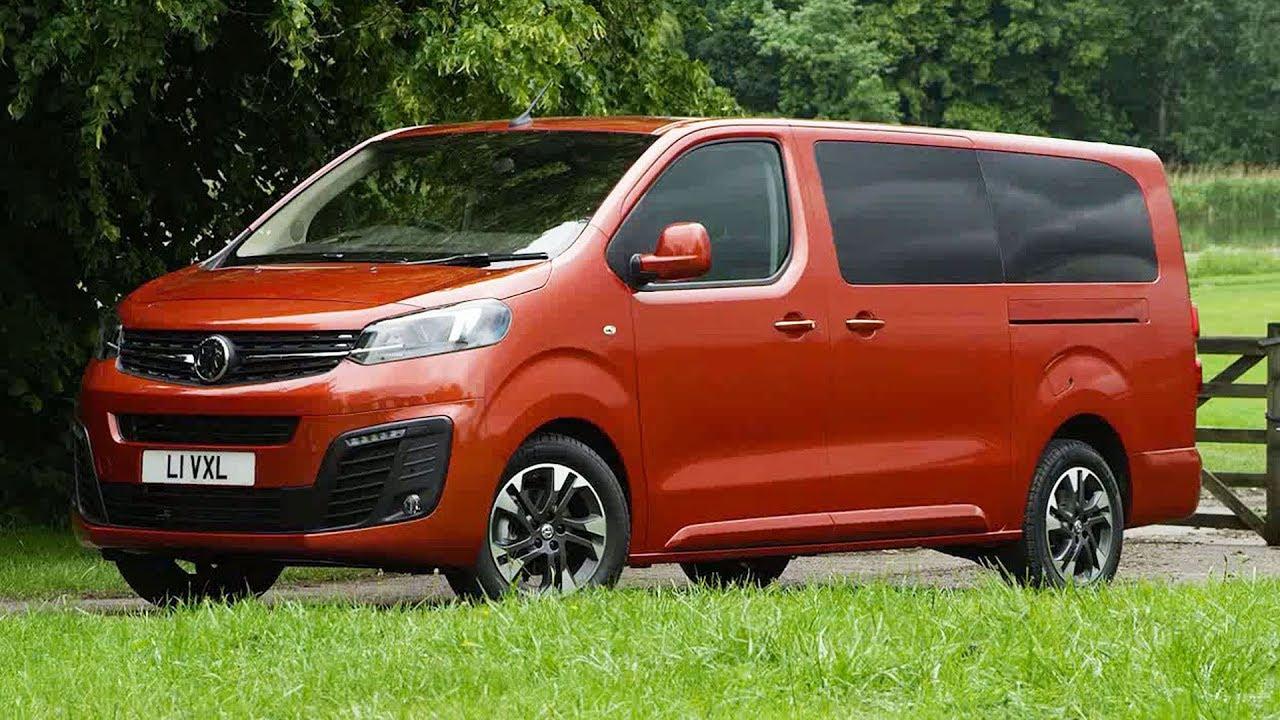 2020 Vauxhall Vivaro Van Life Exterior Interior Drive Opel