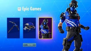 FORTNITE NEW PS+ SKIN CARBON COMMANDO (Fortnite Battle Royal Live) Nederlands, Engels #Dutchgamer