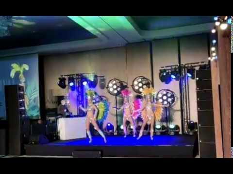 Pokaz samby brazylijskiej na imprezie firmowej - 100% Samba Show