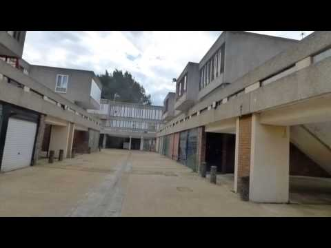 Thamesmead (part 1) - Awesome 60s estate with loads of walkways