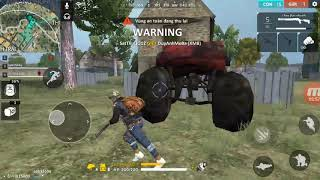 Dung so gan lay top 1 trong gema free fire