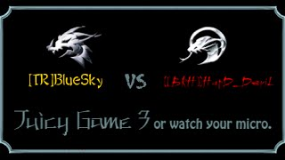 Battle Realms- {[BRH]}HarD_DeviL vs [TR]BlueSky. 3 Games in 1 video.
