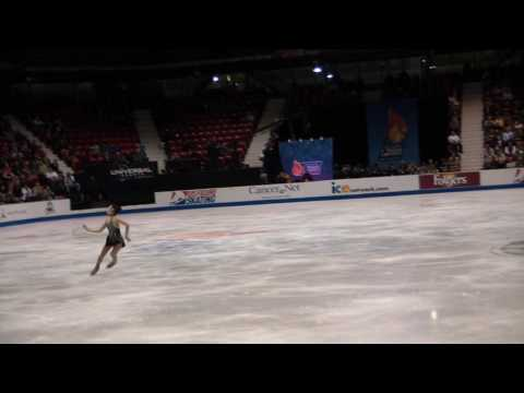 Yuna Kim Skate America 09 SP Performance James Bond Fan Cam World Record