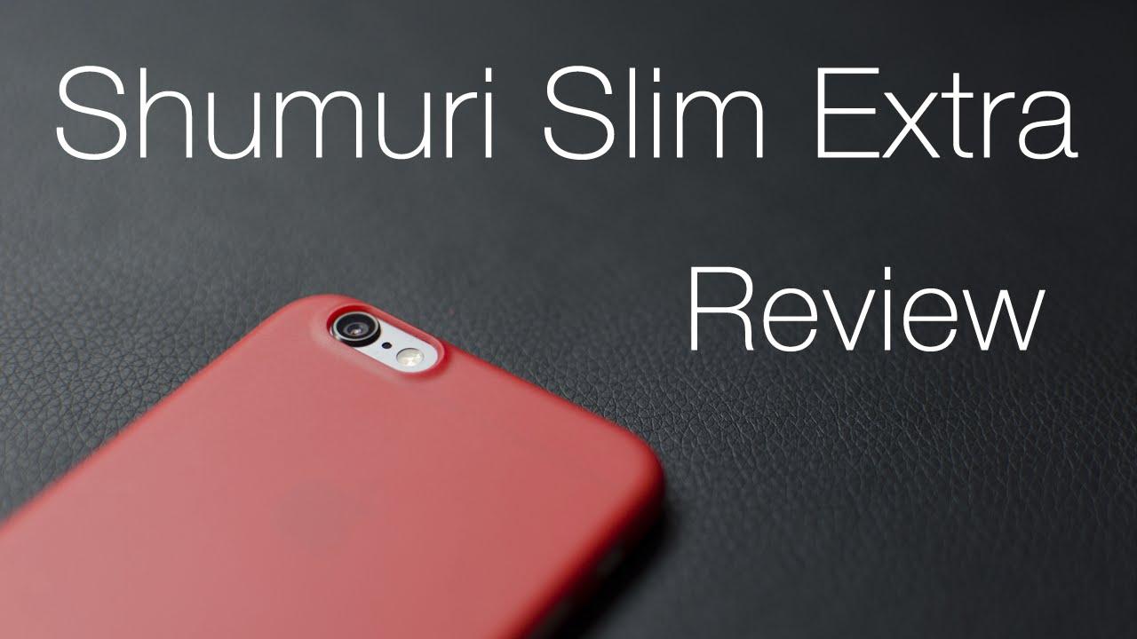 half off 737cc ec62d Funda iPhone 6/Plus || Shumuri Slim Extra || Review