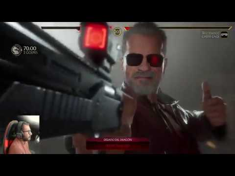 Mortal Kombat 11 Terminator T-800 Final Y Brutalities- Audio latino