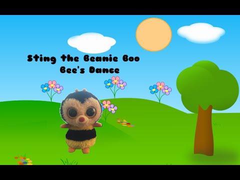 Sting the Beanie Boo Bee s Dance (  ω  ) - w  BeanieBoo13 - YouTube c060d6c5153