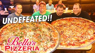Bella's Undefeated 28inch Party Pizza Challenge!!