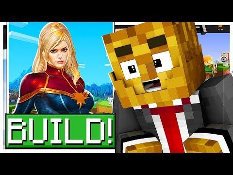*THE AVENGERS* BUILD YOUR FAVORITE SUPERHERO! - MINECRAFT MODDED DC SUPER HERO CREATOR