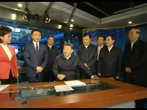 President Xi Visits National Media Headquarters