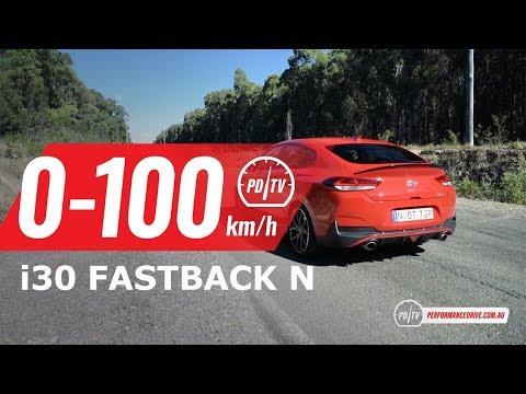 2019 Hyundai I30 Fastback N 0-100km/h & Engine Sound