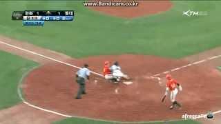 20120628 vs 한화 손아섭 보살