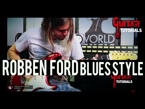 Robben Ford Blues Style - Guitar Tutorial with Paul Audia