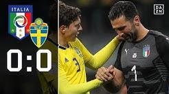 Sensation! Italien verpasst die WM: Italien - Schweden 0:0 | Highlights | WM-Quali | DAZN