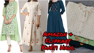 online Amazon Flipkart Kurti Haul 2020