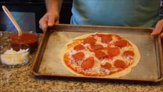 Flour Tortilla Pizza Recipe - Easy Pizza Recipe