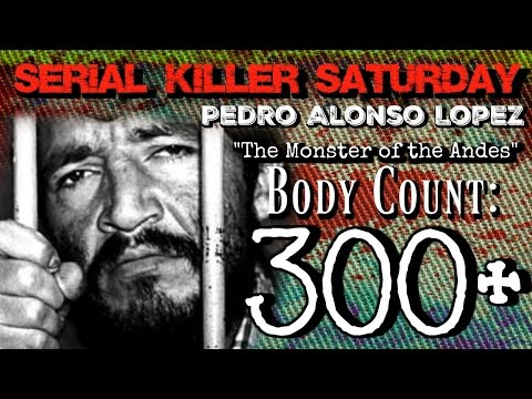 Serial Killer Saturday: Pedro Alonso Lopez- WARNING EXTREMELY GRAPHIC AND DISTURBING