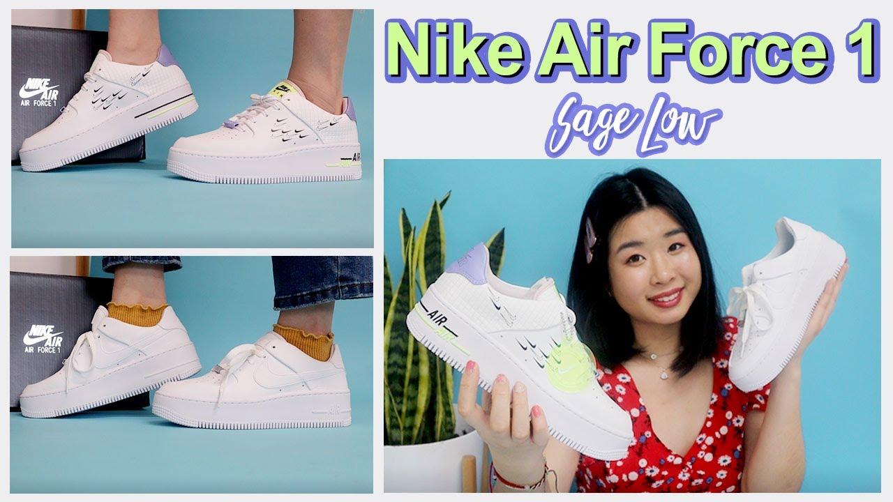 NIKE AIR FORCE 1 SAGE LOW | SHOE