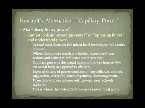 POS 201: Lecture 12-Foucault-The Genealogy of Power and Regimes of Truth