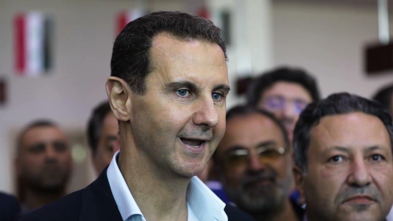 حديث الرئيس الأسد مع الصناعيين وأصحاب المعامل والمنشآت في مدينة عدرا الصناعية