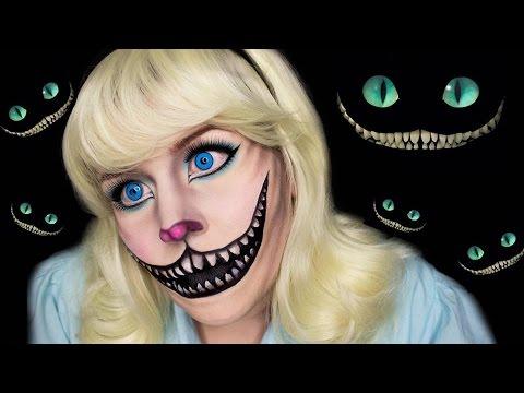 cheshire alice in wonderland makeup tutorial youtube
