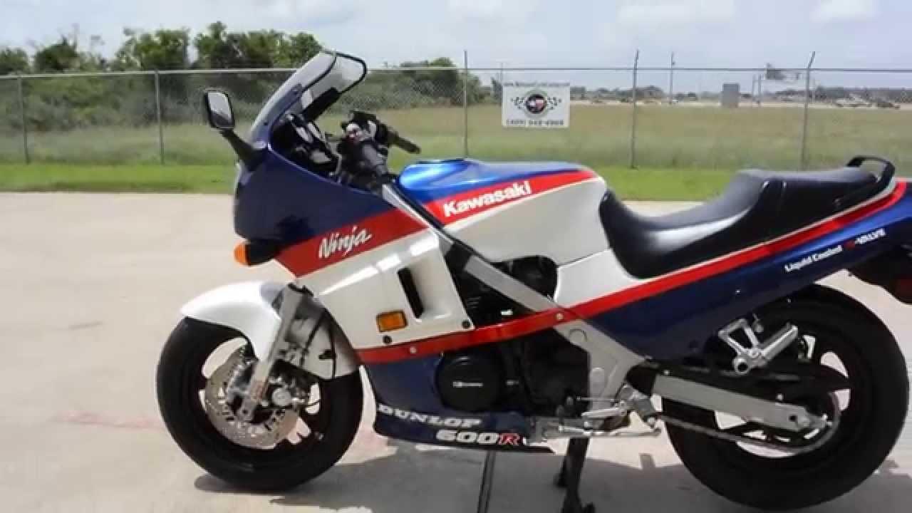 Mainland's Vintage 1986 Kawasaki 600R Ninja - YouTube