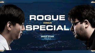 Rogue vs SpeCial ZvT - Group D - 2018 WCS Global Finals - StarCraft II