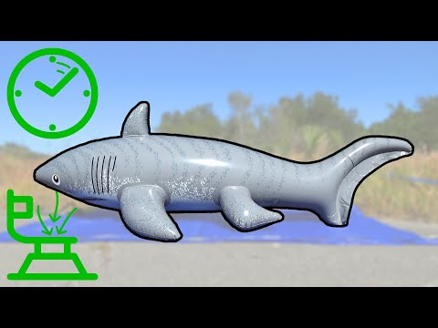 Inflatable World Shark Time Lapse Inflation