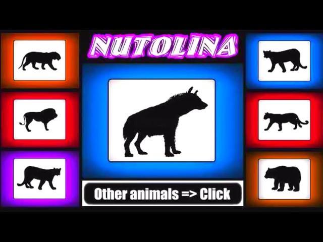 Animal sounds Hyena sounds  Hyena sound effect laught