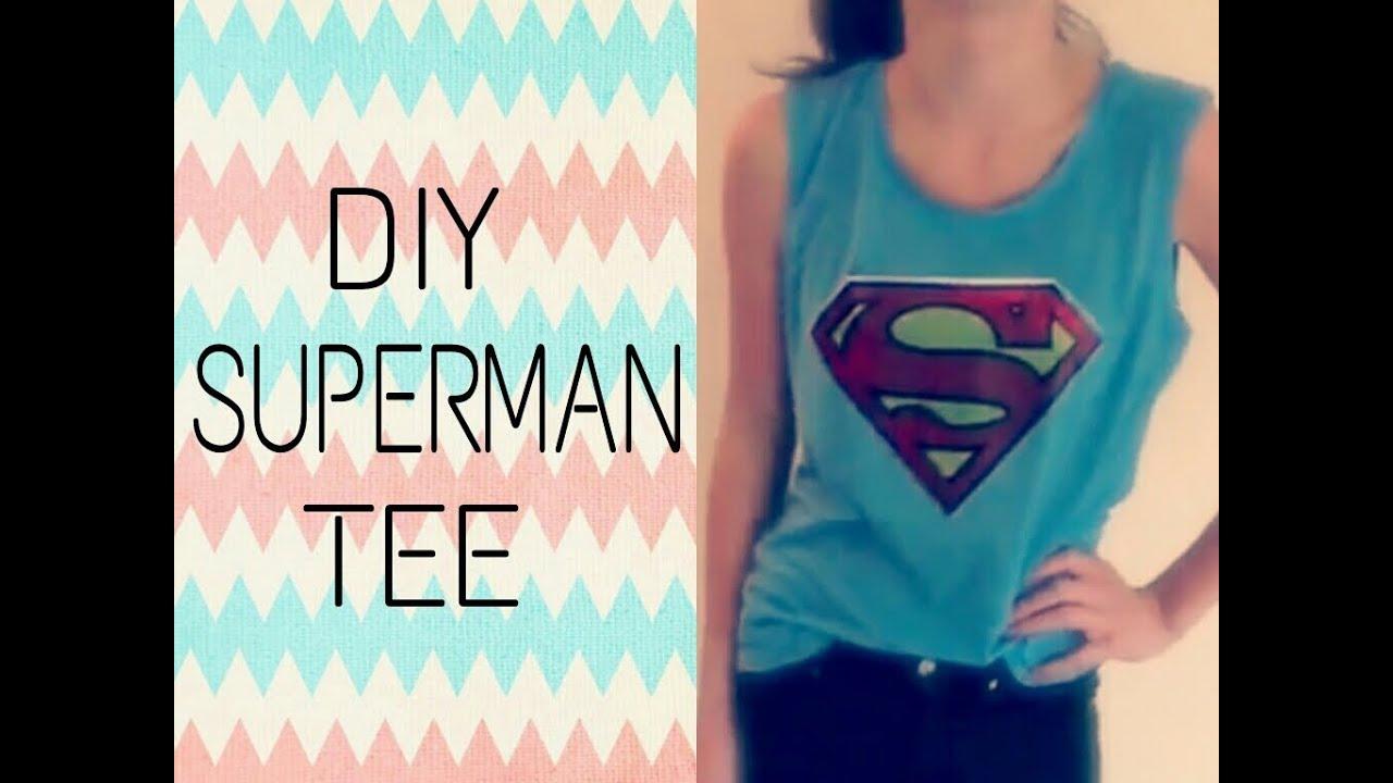 Superhero T Shirt Design
