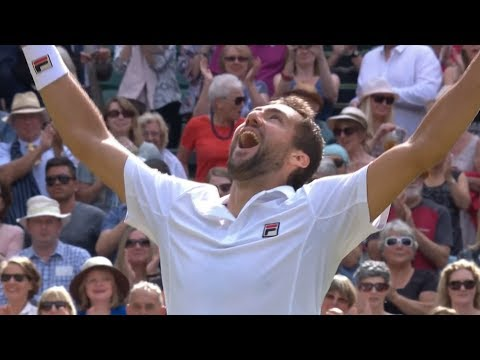 Querrey vs Cilic Wimbledon 2017 Semi Final 1