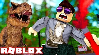 When the DINOSAURS lived..! -Roblox Time Travel Adventures Ep 4 Danish with ComKean