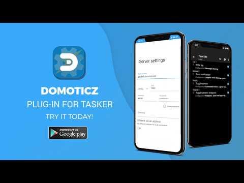 Domoticz Plug-In for Tasker