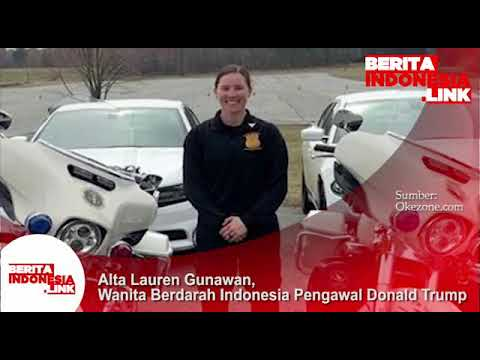 Alta Lauren Gunawan, Wanita berdarah Indonesia yang menjadi pengawal Donald Trump.