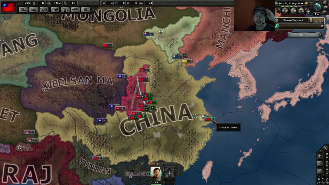 HOI4: Road to 56 China Tutorial| Pt: 1 - YouTube