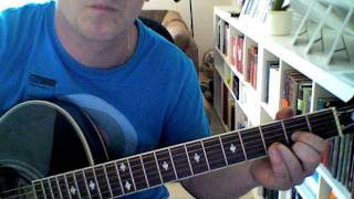 Through the barricades (Guitar lesson) Spandau Ballet