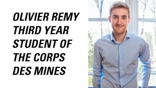 Olivier Remy, third year student of the Corps des Mines thumbnail