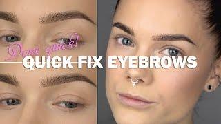 Done Quick - Quick Fix Eyebrows - Linda Hallberg makeup tutorials Thumbnail