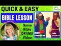 How to plan a QUICK & EASY Bible Lesson (Good Samaritan)